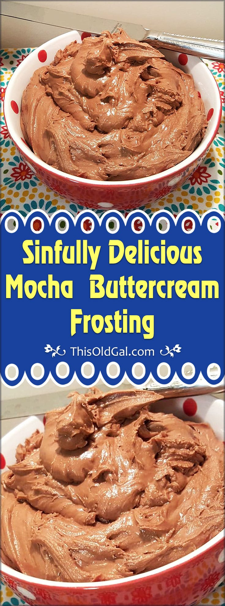 Sinfully Delicious Mocha Buttercream Frosting Recipe