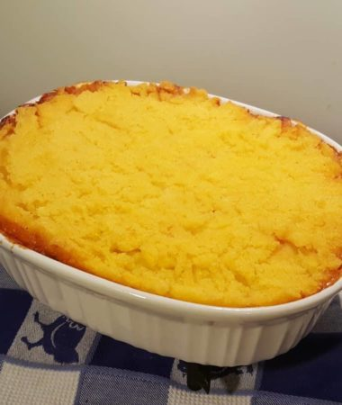 Basic Polenta Cornmeal Topper Recipe