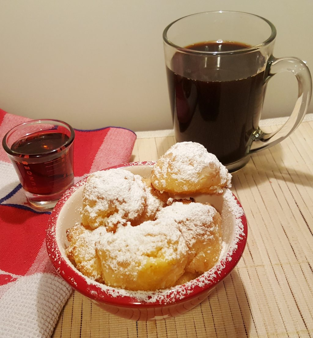 Air Fryer Sweet Polenta Breakfast Bites with Maple Syrup