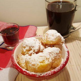 Air Fryer Sweet Polenta Breakfast Bites