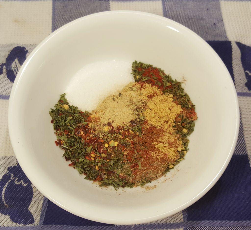 Mix together all Spices