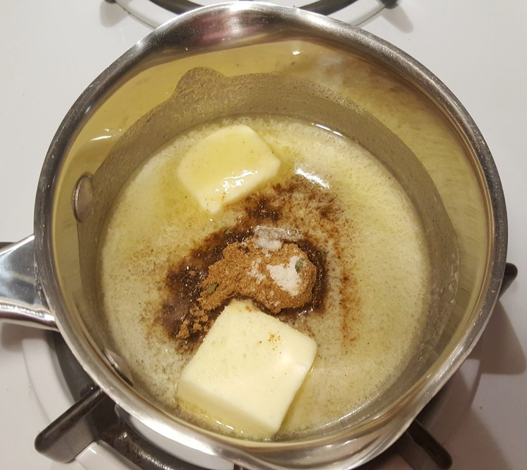 Melt Butter on Stove