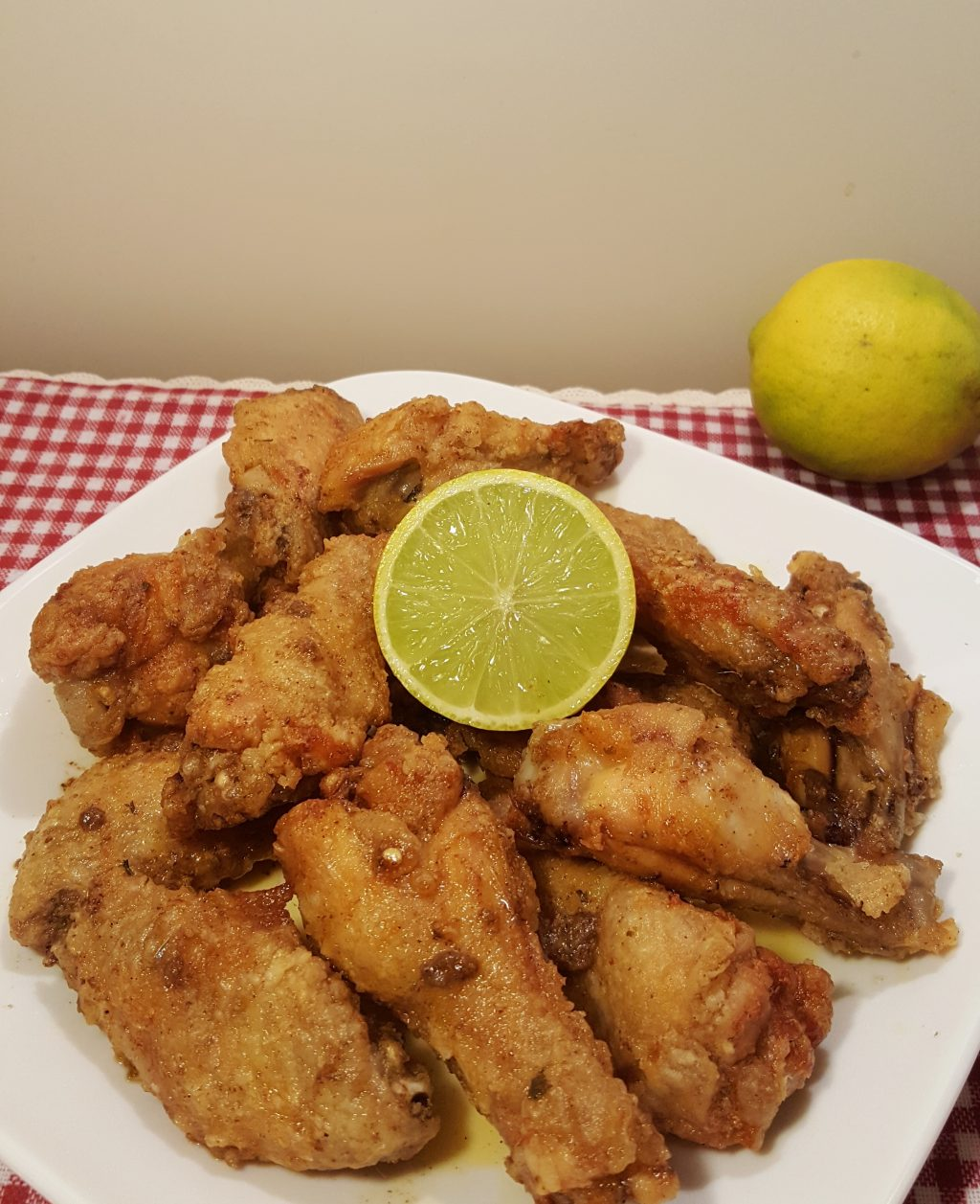 Air Fryer Crispy Old Bay Chicken Wings
