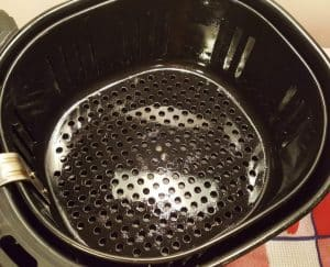 Properly Seasoned Air Fryer Basket