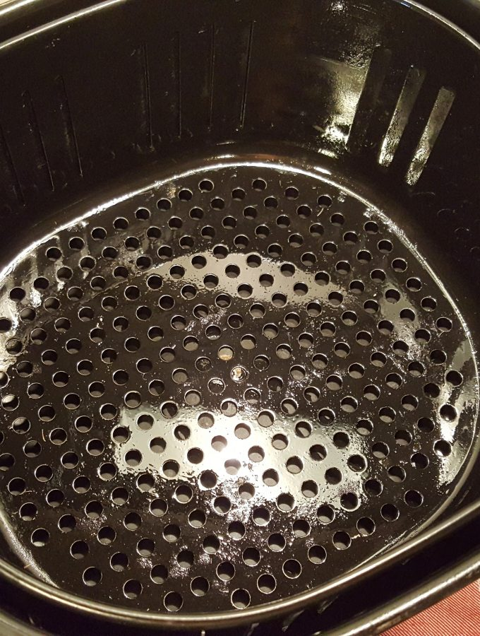 Properly Seasoned Air Fryer Basket