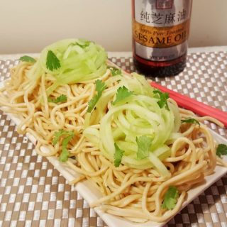 Pressure Cooker P.F. Chang's Garlic Noodles {Instant Pot}