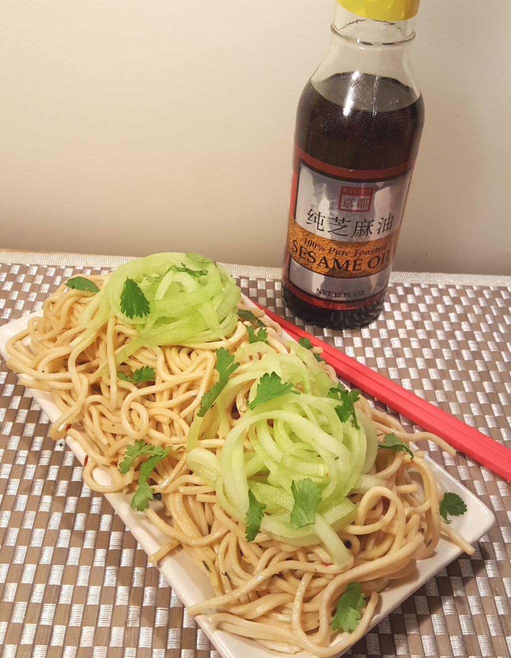 Pressure Cooker P.F. Chang's Garlic Noodles