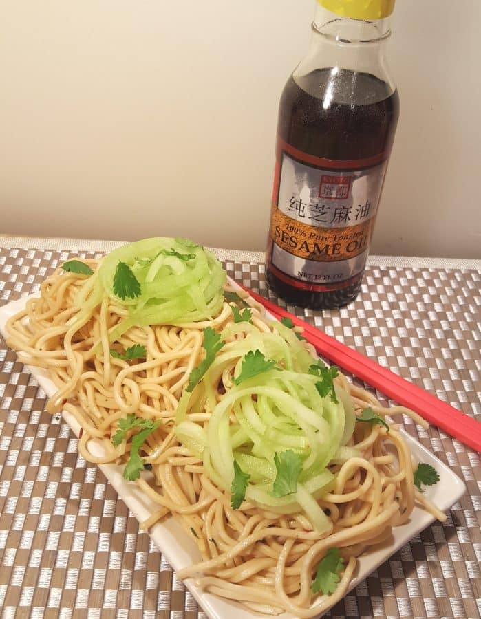 Instant Pot P.F. Chang's Garlic Noodles