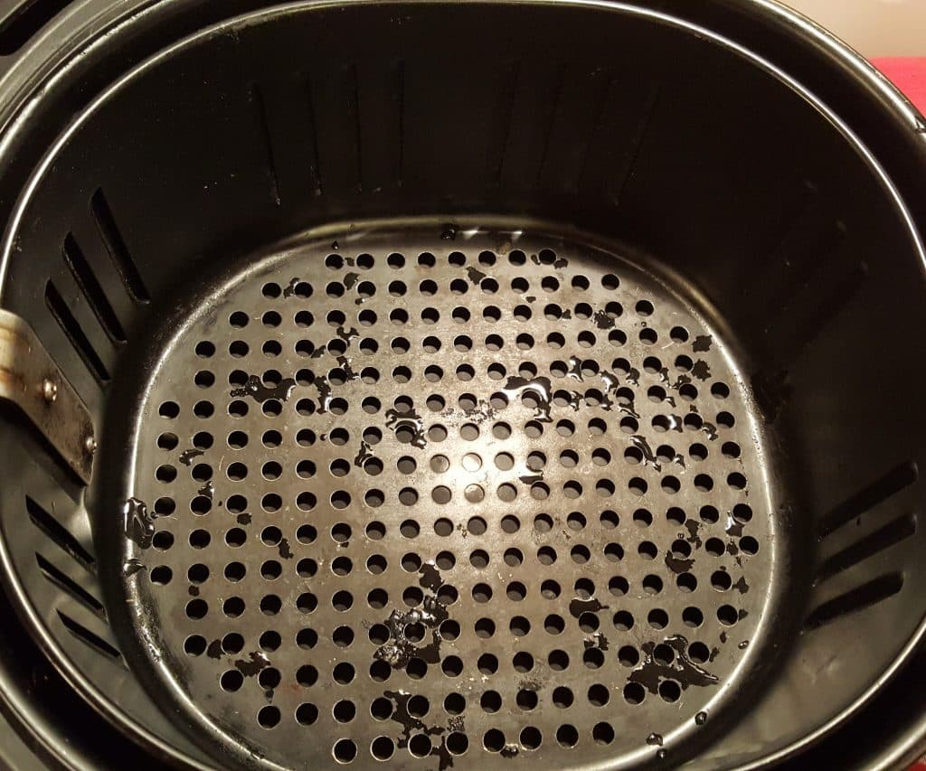 Wash and Dry your Air Fryer