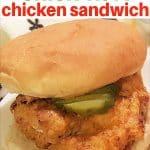 Air Fryer Chick-Fil-A-Sandwich