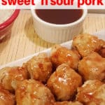 Air Fryer Chinese Take Out Sweet 'N Sour Pork