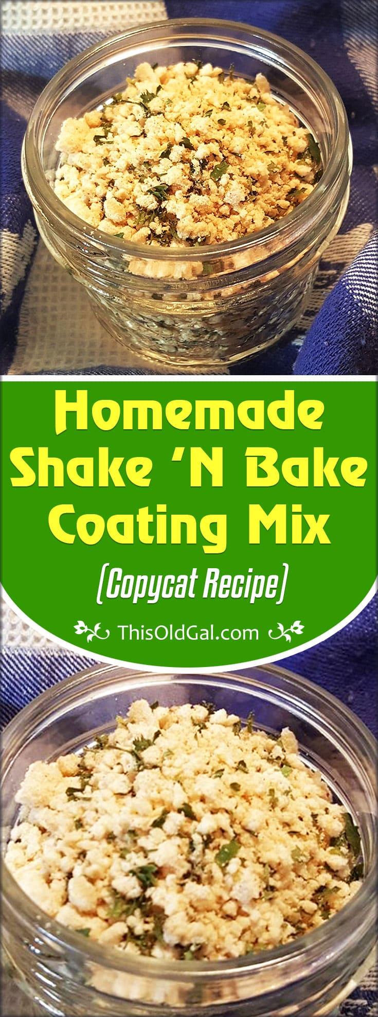 Homemade Shake 'N Bake Coating Mix (Copycat Recipe)