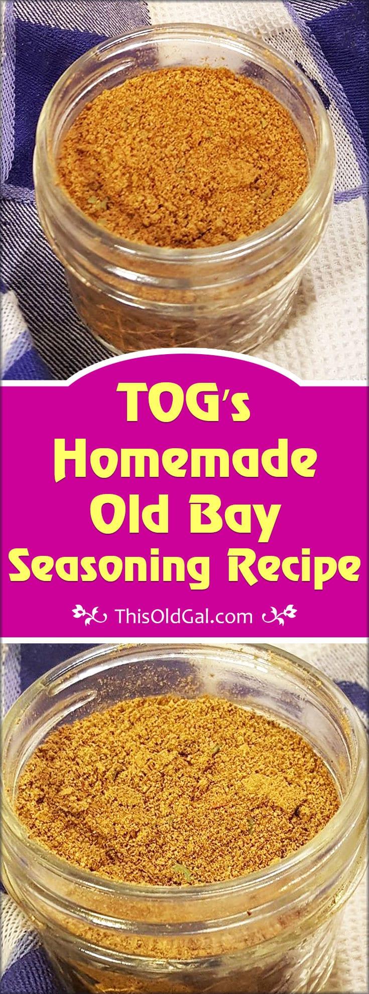 Tog 39 s homemade old bay seasoning recipe this old gal for Fish seasoning recipe
