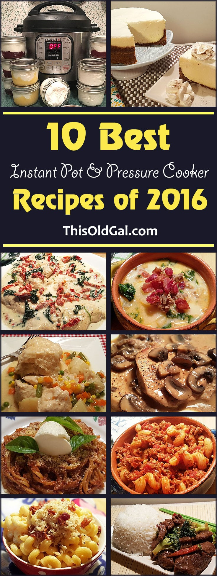 Best Instant Pot and Pressure Cooker Recipes of 2016