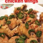 Air Fryer Chinese Salt & Pepper Chicken Wings