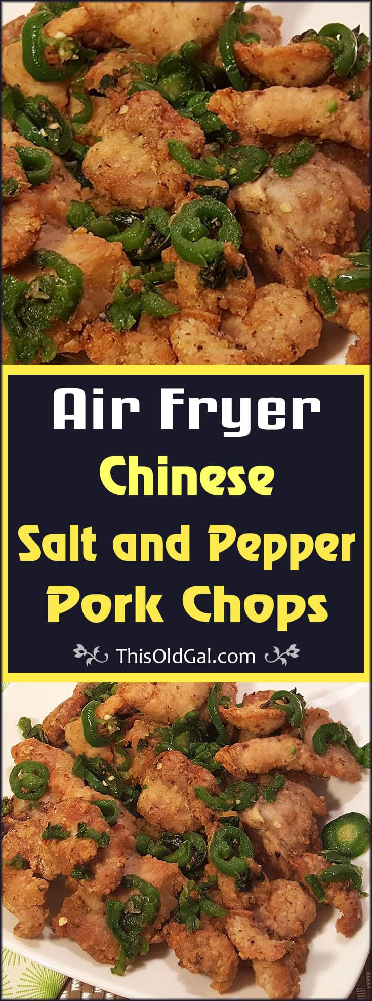 Air Fryer Chinese Salt and Pepper Pork Chops