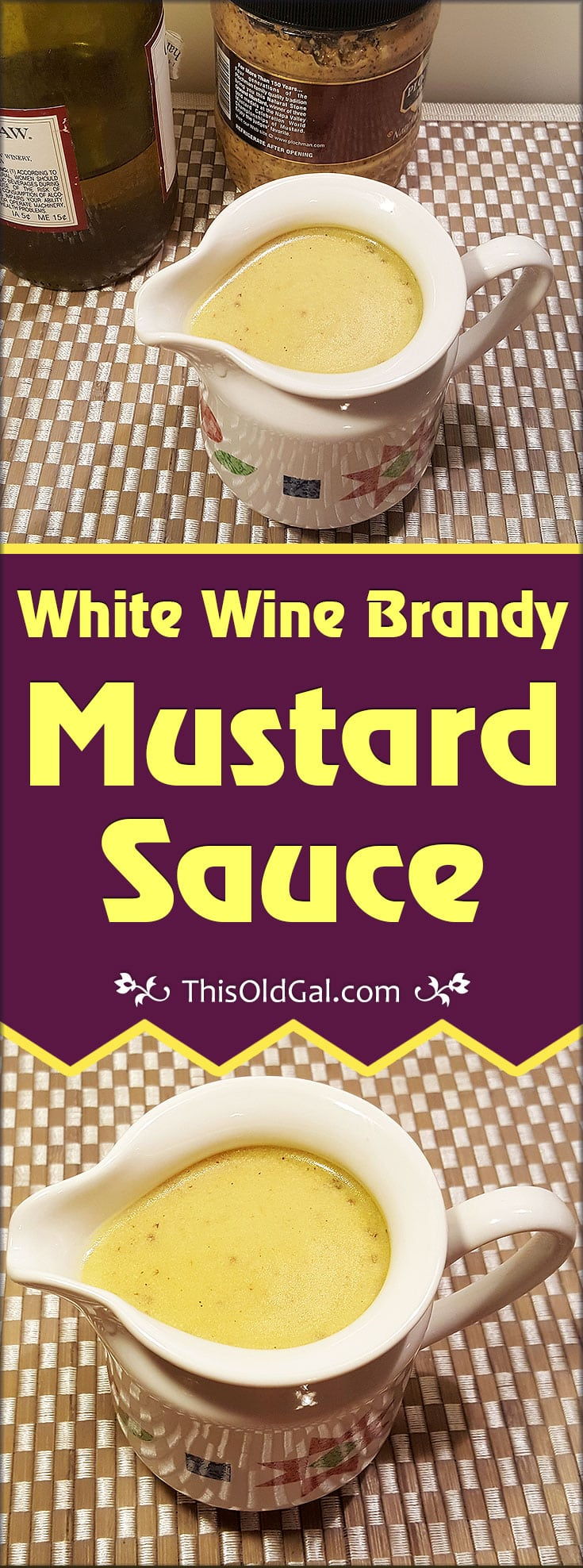 White Wine Brandy Mustard Sauce