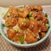 Pressure Cooker Chinese Take-Out General Tso's Chicken and Rice