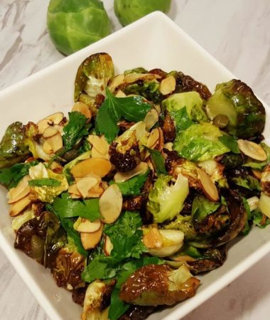 Air Fryer Cleo's in Hollywood Brussels Sprouts
