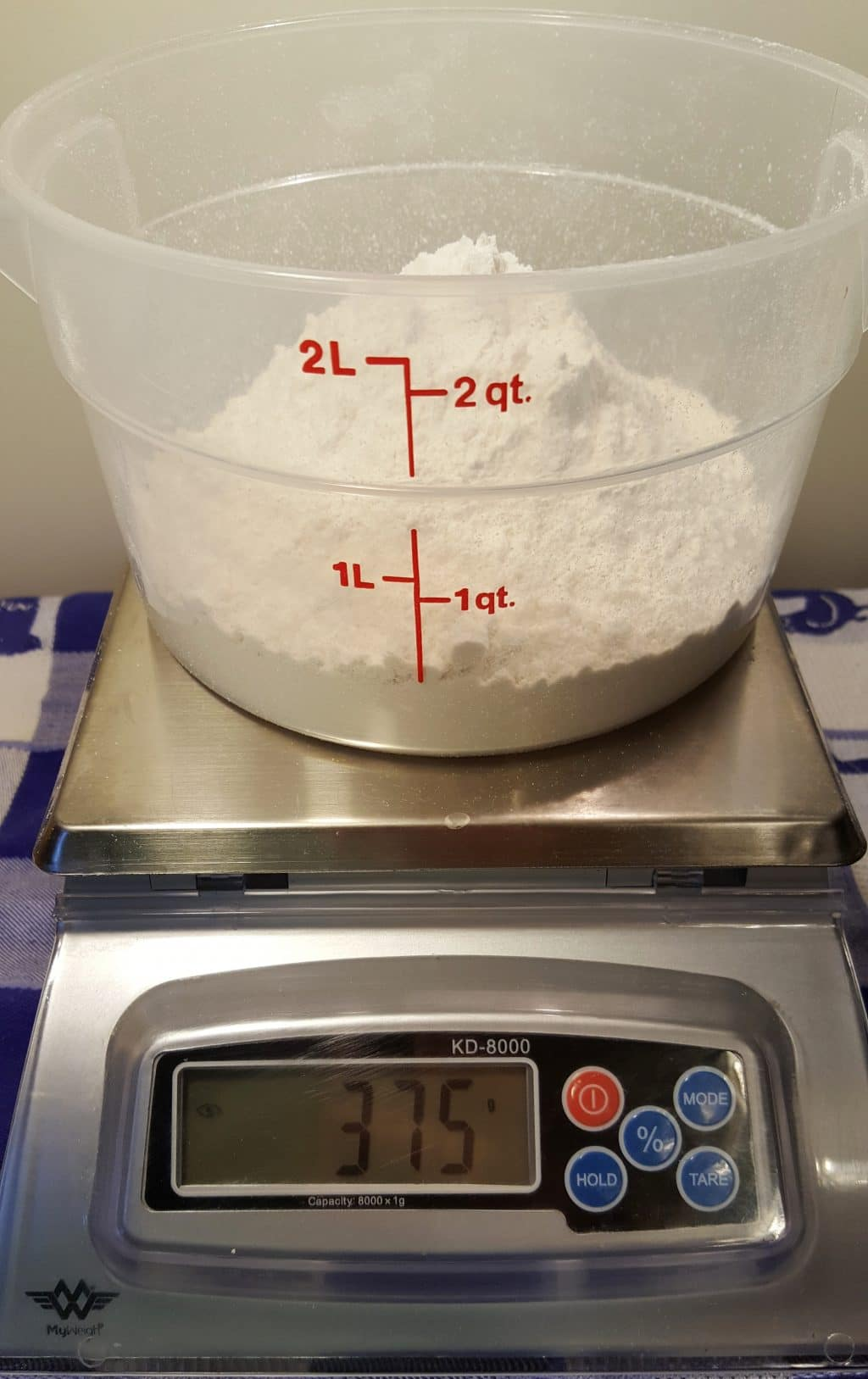 Weigh the Flour