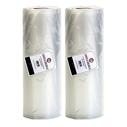 "11"" x 50' Commercial Vacuum Sealer Rolls"