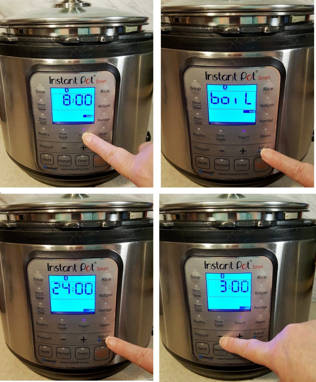 Set your Instant Pot or GoWise