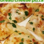 Air Fryer 6 Minute Pita Bread Cheese Pizza