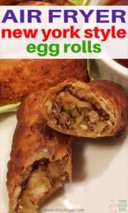 Air Fryer New York Style Egg Rolls