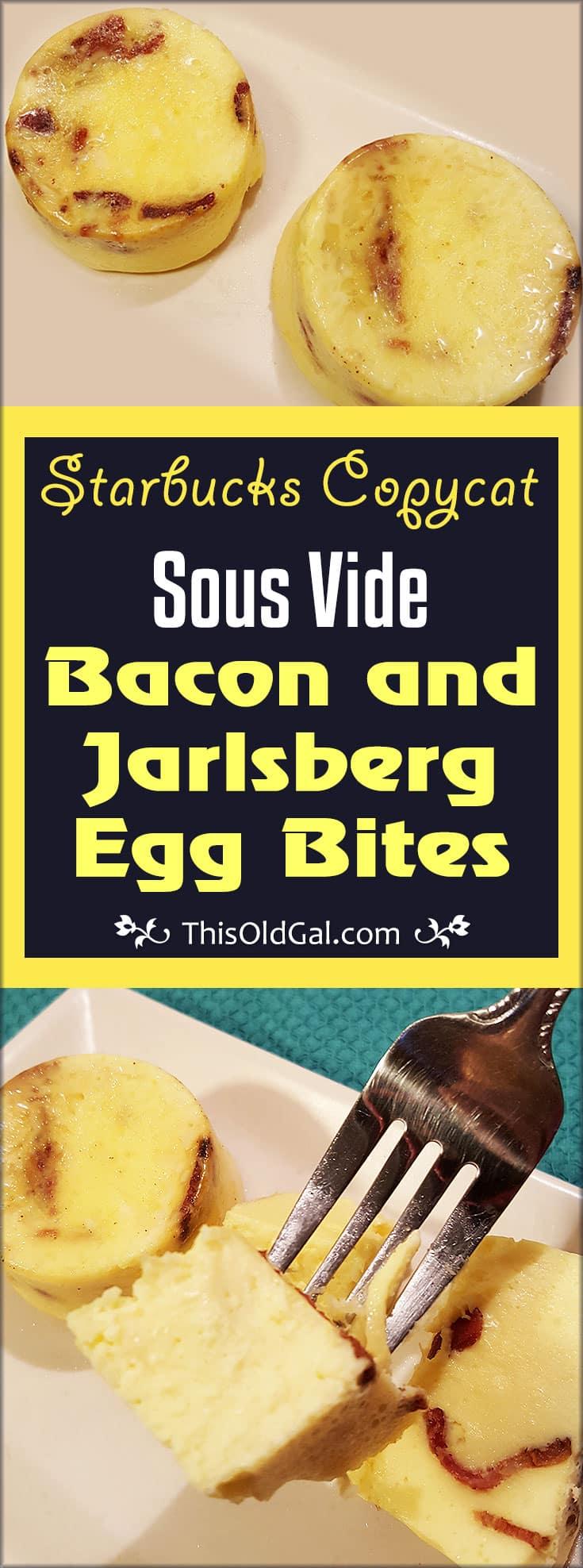 Starbucks Sous Vide Bacon & Jarlsberg Egg Bites