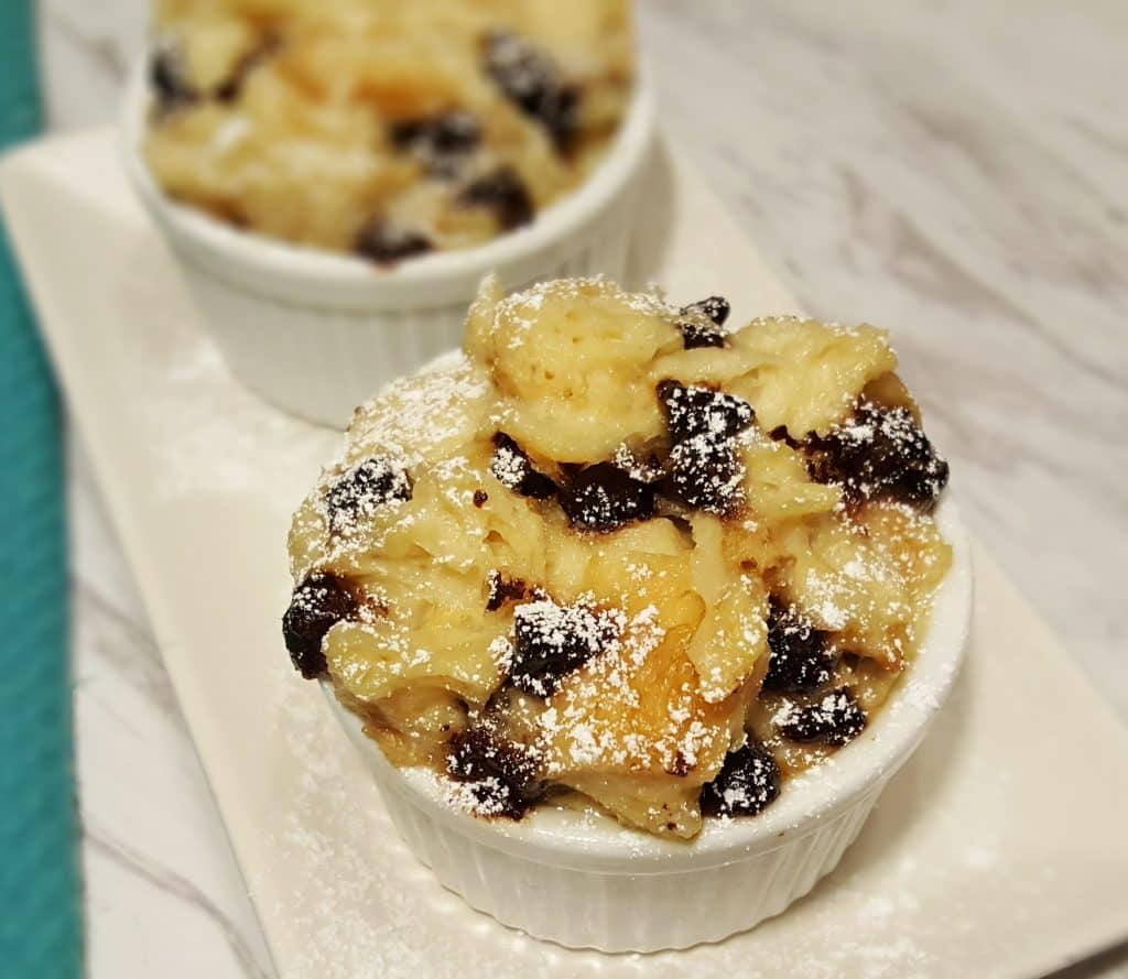 Pressure Cooker Chocolate Chip Bread Pudding This Old Gal