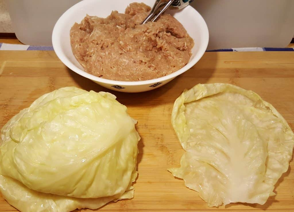 Gather the Cabbage Roll Ingredients