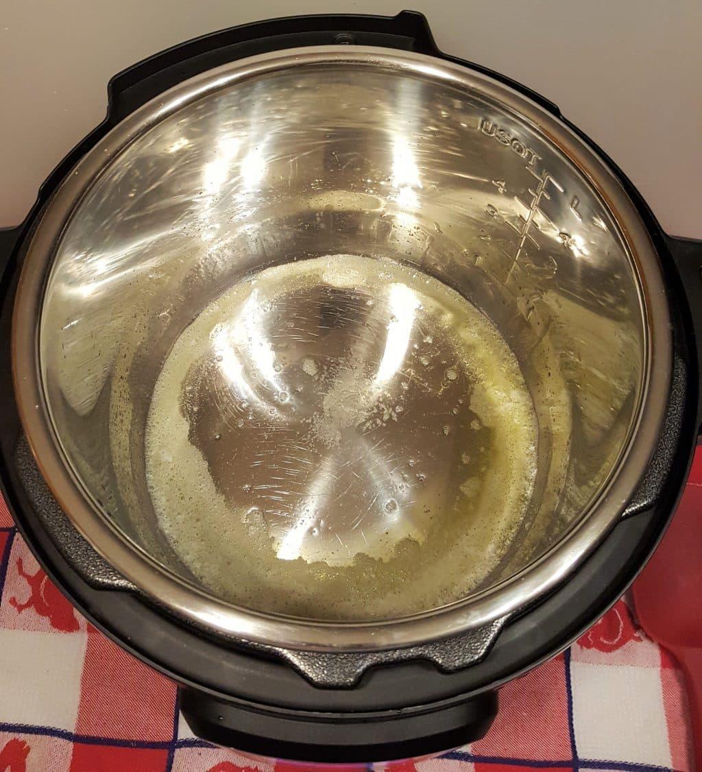 Heat Pot Fully, add Ghee