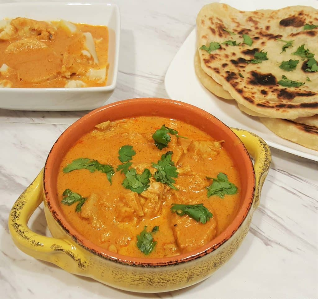 Instant Pot Indian Butter Chicken with Chapati