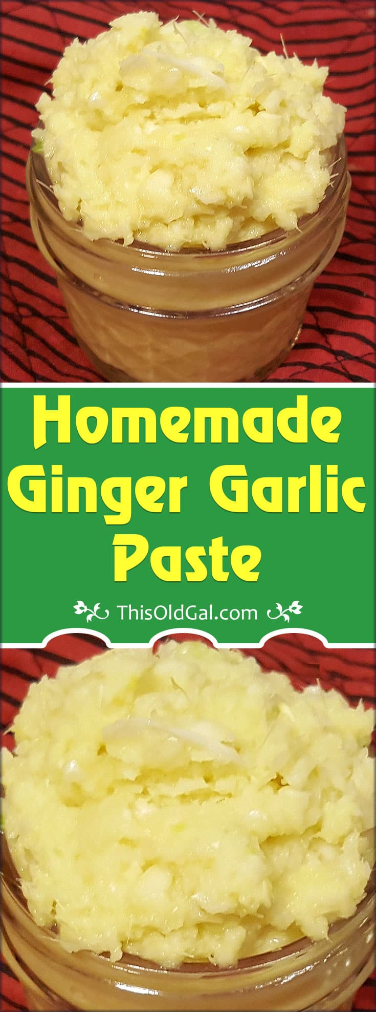 Homemade Ginger Garlic Paste (Indian Cooking)