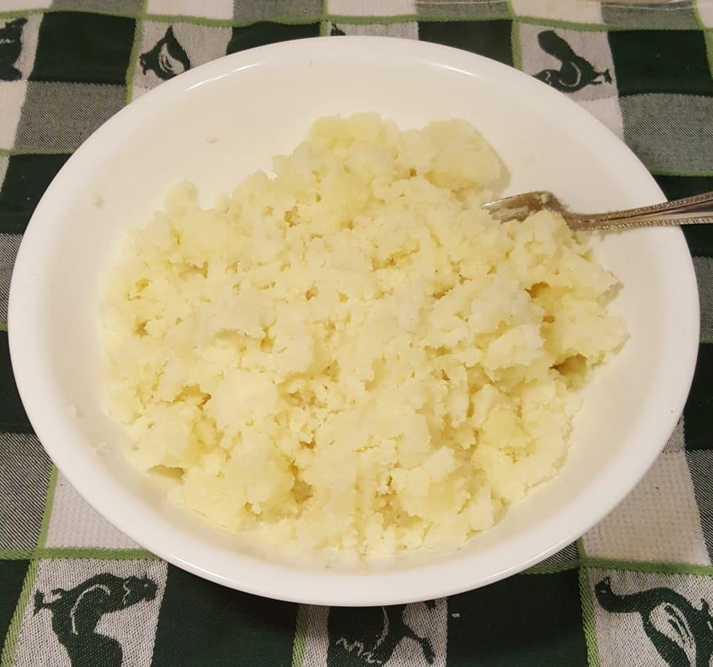Mash the Fluffy Potatoes