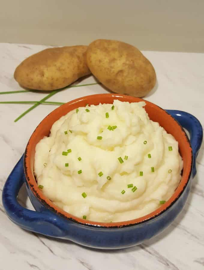 Instant Pot Pressure Cooker Mashed Potatoes