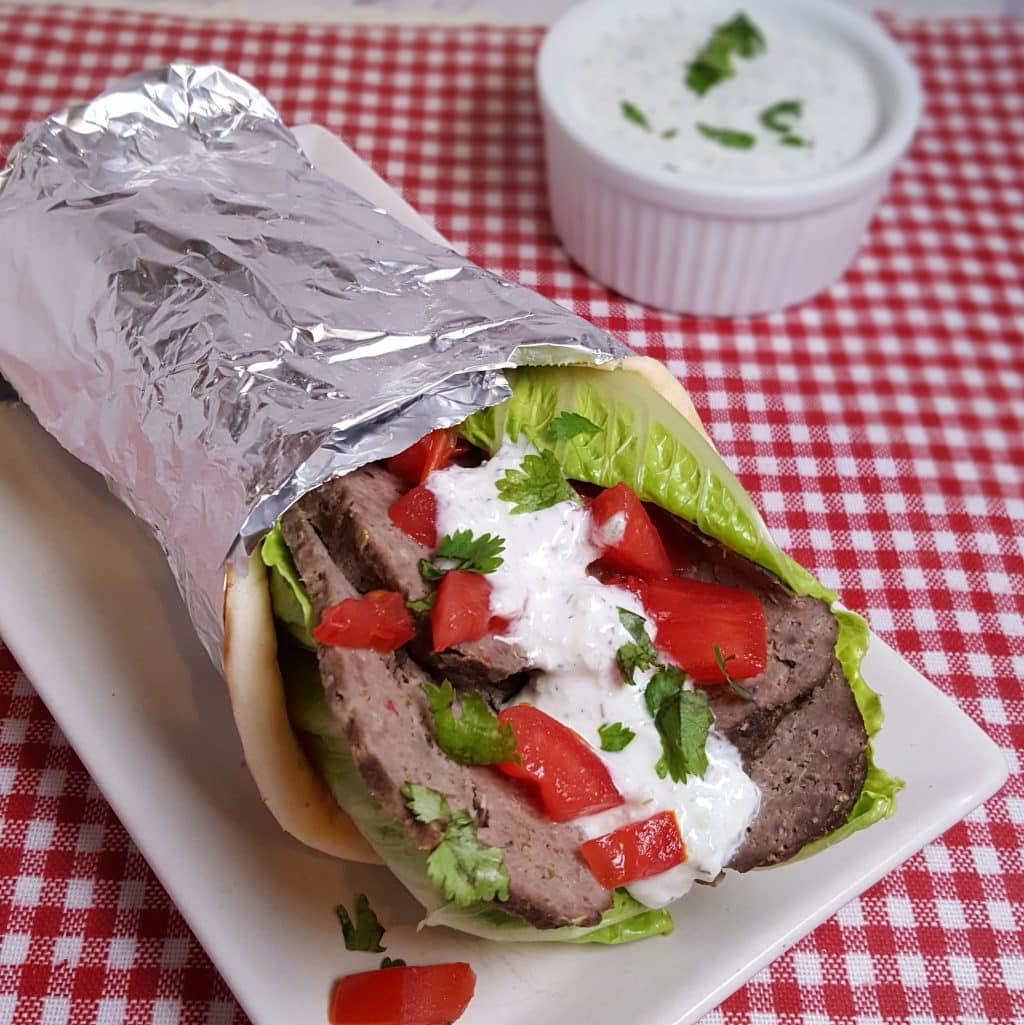 Pressure Cooker Greek Lamb Gyros