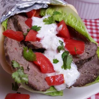 Pressure Cooker Greek Lamb Beef Gyros