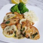 Cast Iron Chicken Piccata