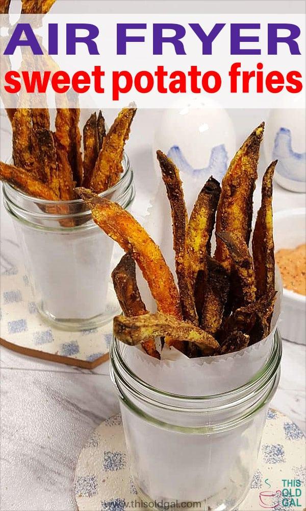 Easy Air Fryer Crispy Sweet Potato Fries