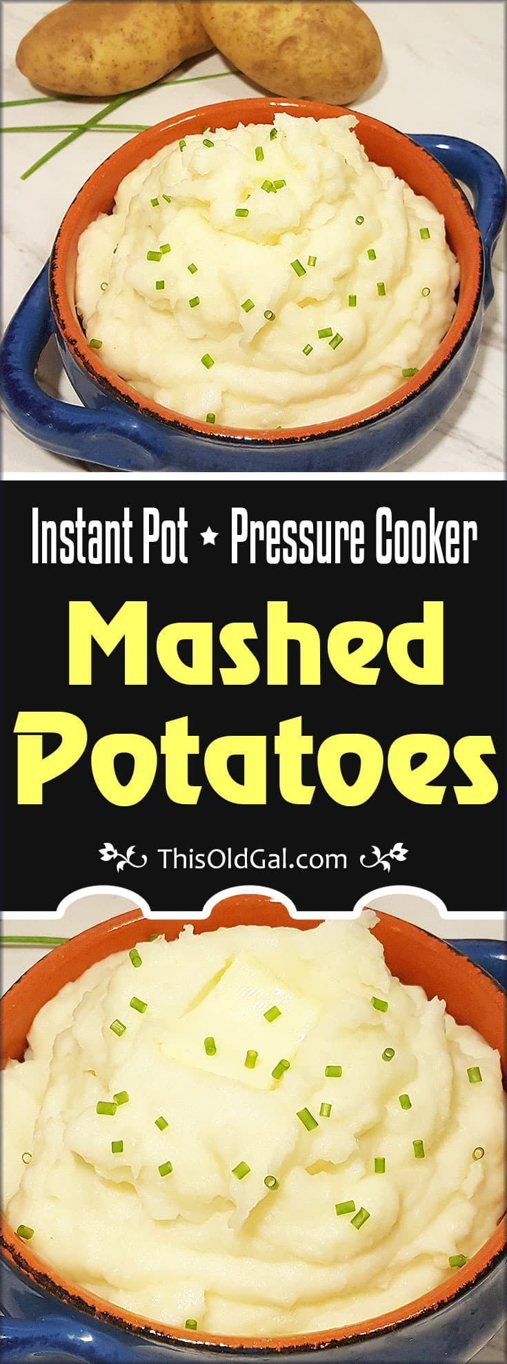 Pressure Cooker Instant Pot Mashed Potatoes