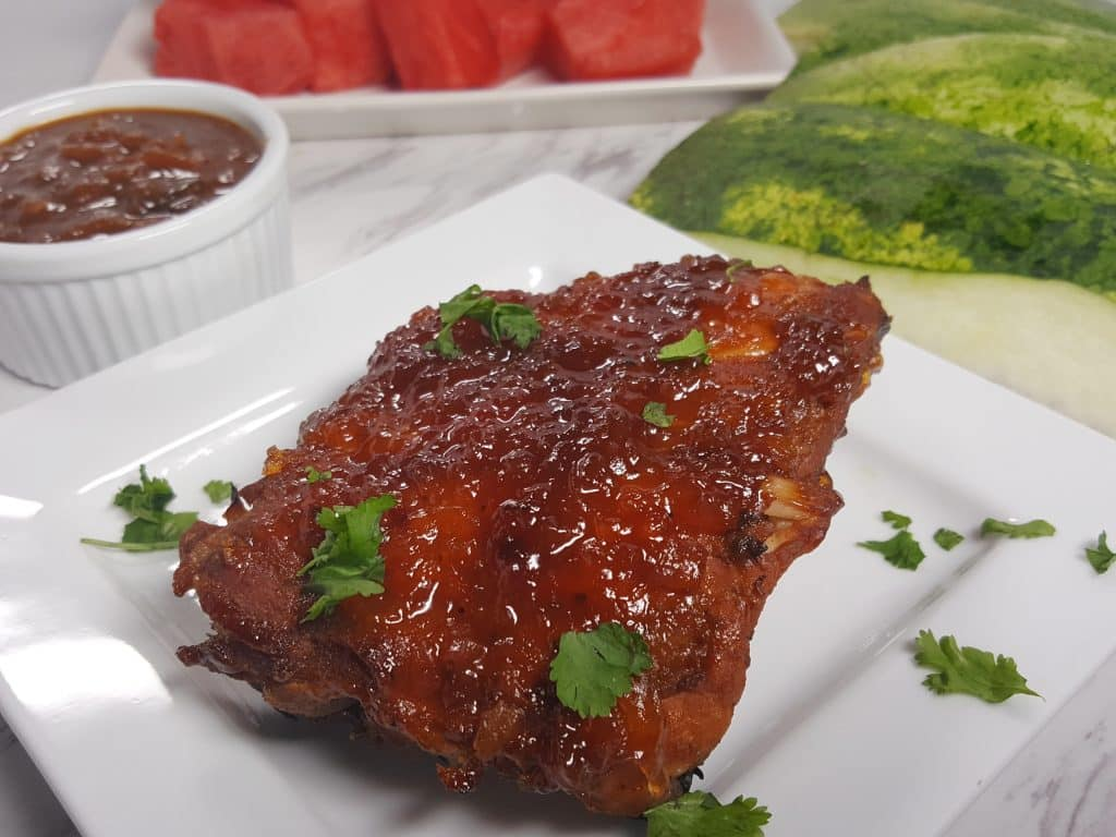 Pressure Cooker Instant Pot Watermelon Baby Back Ribs