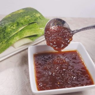 Pressure Cooker Watermelon Rind Barbecue Sauce