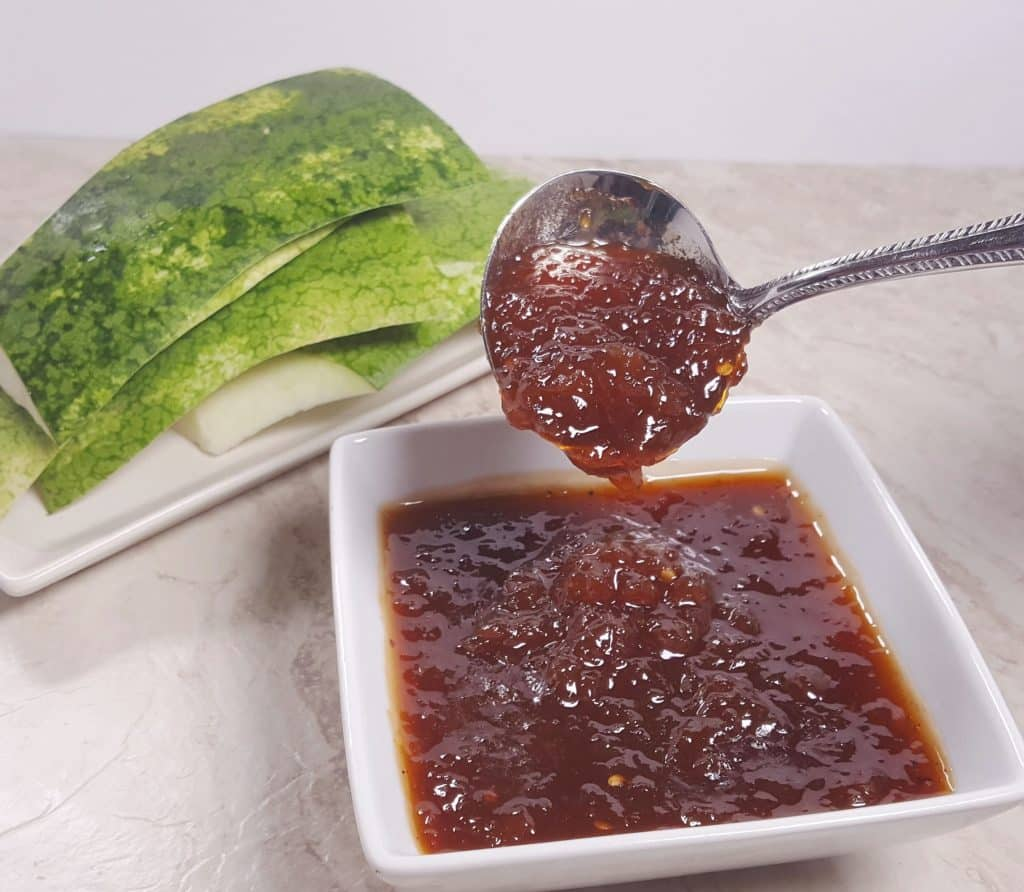 Pressure Cooker Watermelon Rind Barbecue Sauce This Old Gal