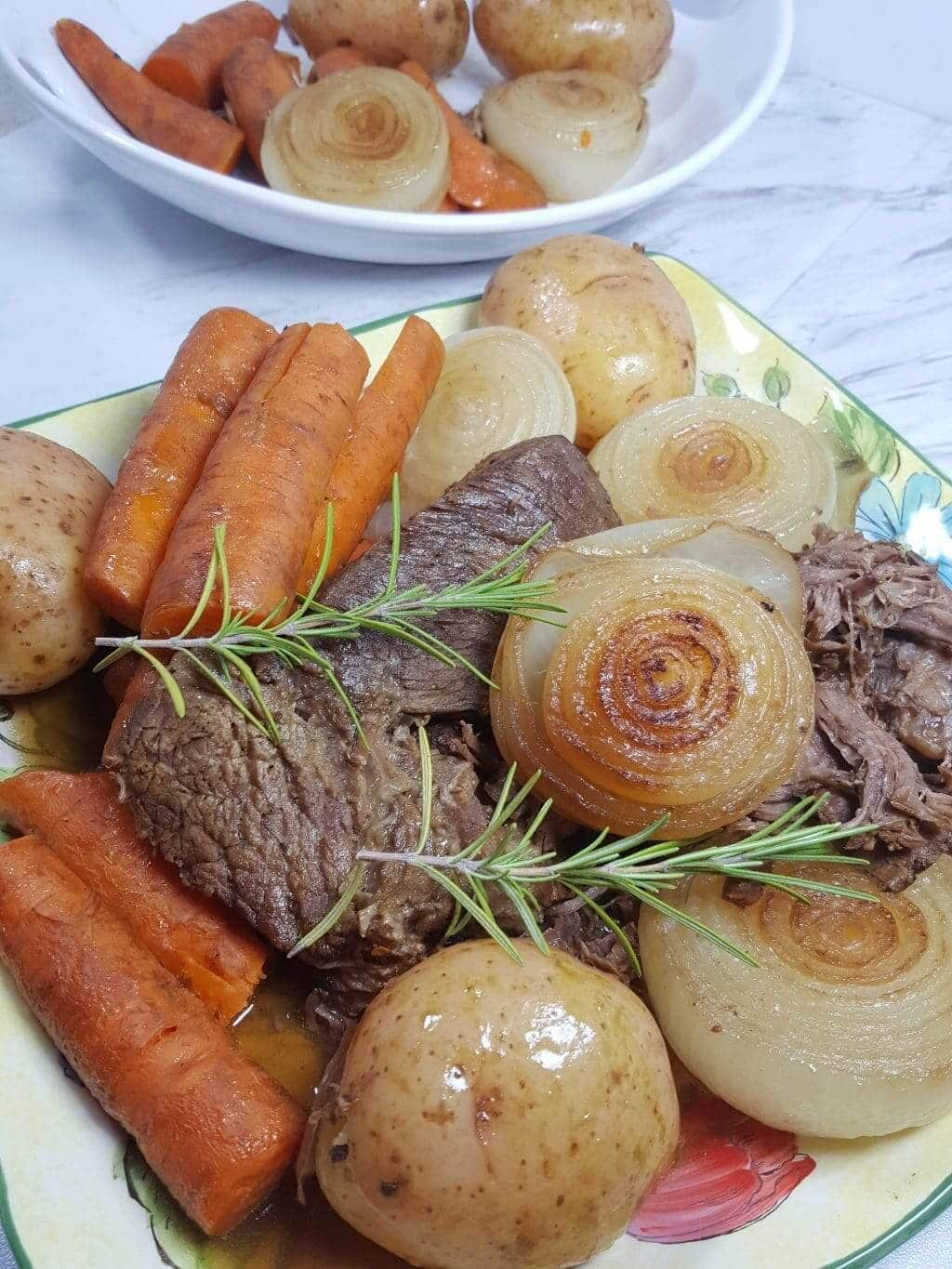 Pressure cooker pot roast recipe tall