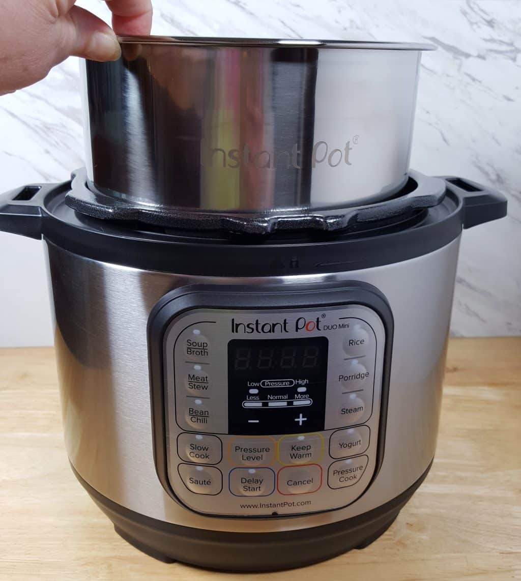 how to use ronson pressure cooker