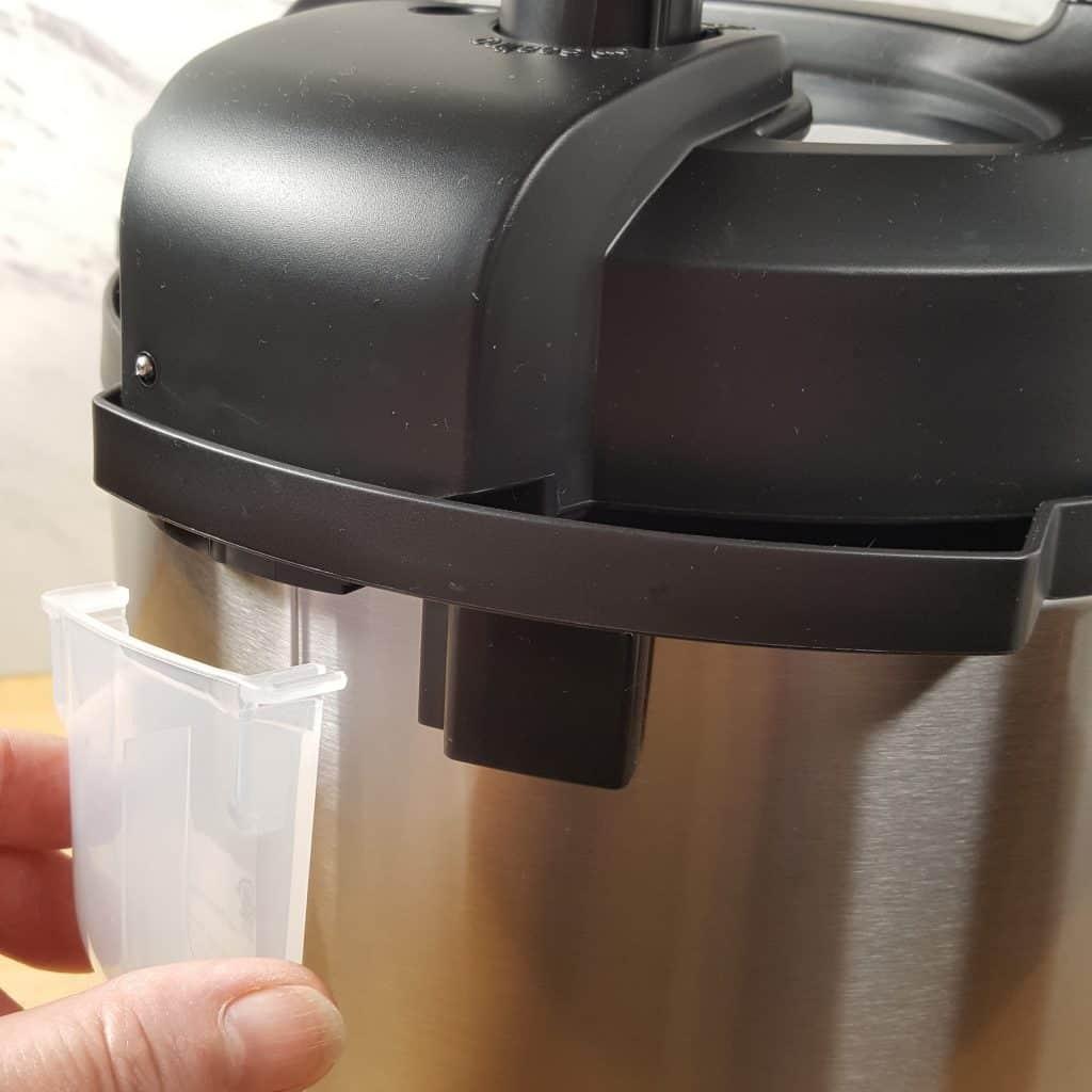 Condensation Cup Installation