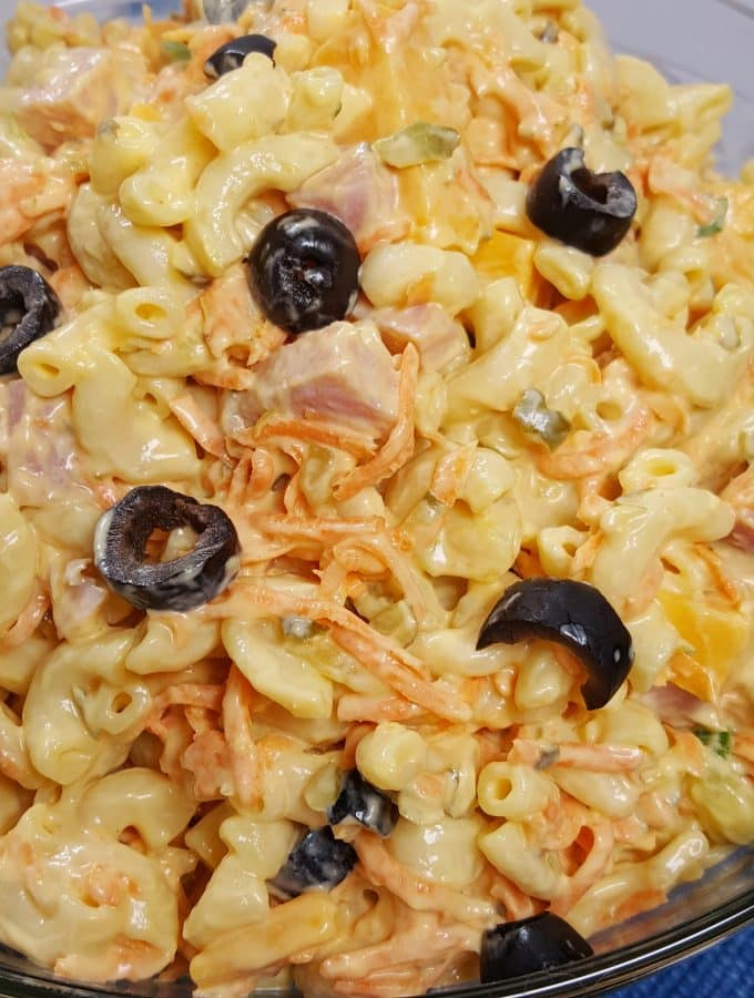 Instant Pot Pressure Cooker Best Macaroni Salad Recipe