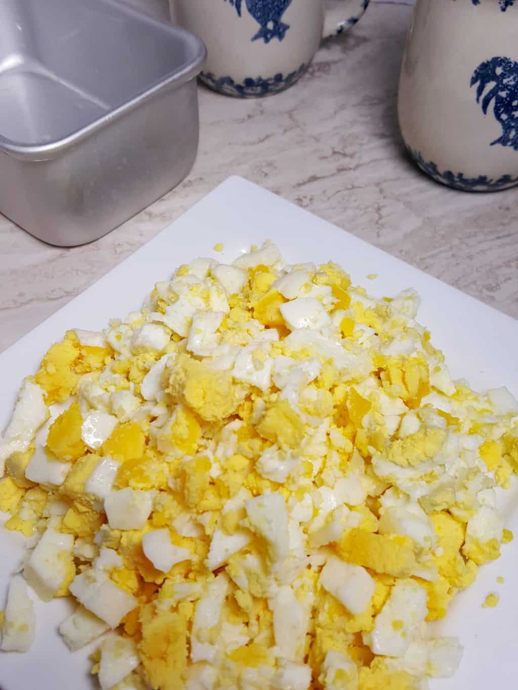Instant Pot Pressure Cooker Hard Boiled Egg Loaf