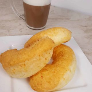 Cuban Cortadito with Colombian Pan de Yuca